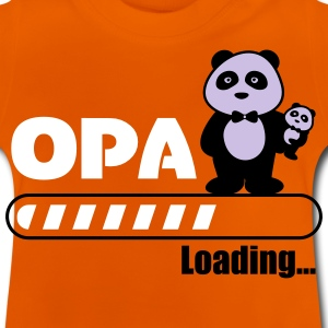 opa loading - Baby-T-shirt
