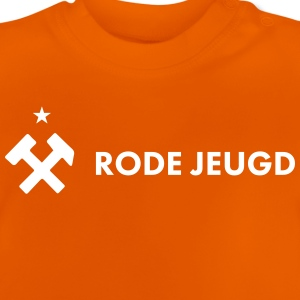rote vertikale Jugend - Baby T-Shirt