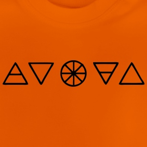 Alchemy Symbols Nature - Baby T-Shirt