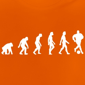 Evolution of Football - Baby T-shirt