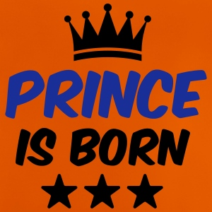 Prince is Born - Baby T-Shirt - Birth T-Shirt - Baby T-Shirt