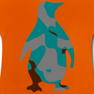 PINGUIN / PENGUIN / CAMO / CAMOUFLAGE - Baby T-Shirt