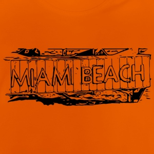 Miami Beach black - Baby T-Shirt