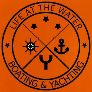 Life at the water - boating and yachting - Baby T-Shirt