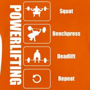 Powerlifter Lifestyle - Baby T-Shirt