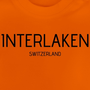 interlaken - Baby-T-shirt