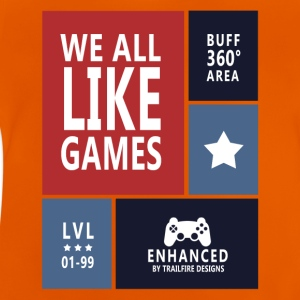 We all like games - Baby T-Shirt