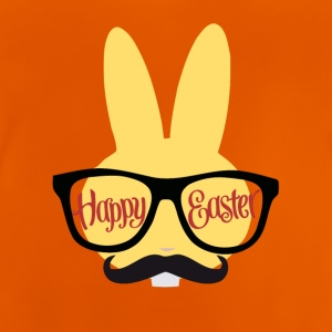 Easter Design with a Hipster Easter Bunny - Baby T-shirt