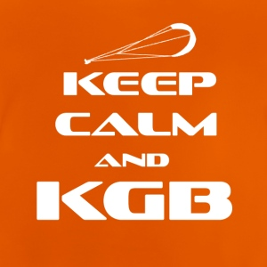 KITESURFING - KEEP CALM AND KGB - Baby T-Shirt