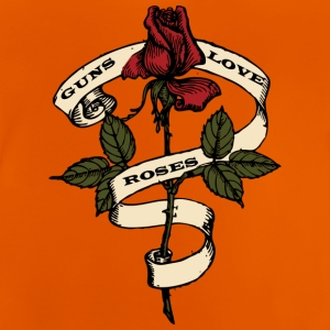 Guns love Roses - Baby T-Shirt