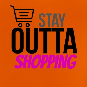 Stay outta shopping please - Baby T-Shirt