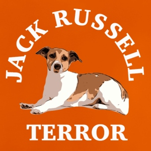 Jack Russell terror3 white - Baby T-Shirt