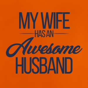 Wedding / Marriage: My Wife has an awesome Husband - Baby T-Shirt