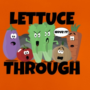 Through Lettuce - Baby T-Shirt