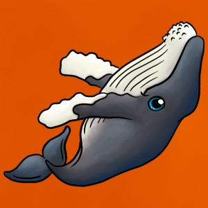 Little humpback whale - Baby T-Shirt