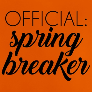 Spring Break / Spring Break: Officiella spring break - Baby-T-shirt