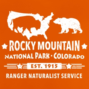 Bison Grizzly Rocky Mountain National Park Mountains - Baby T-Shirt