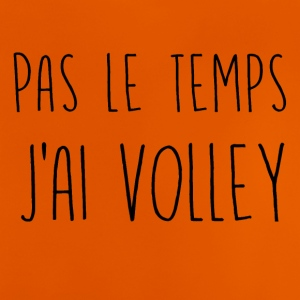 pas le temps volley - T-shirt Bébé