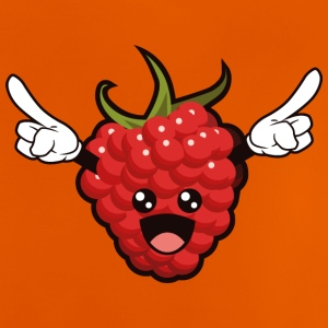 Cartoon Raspberry - Baby-T-skjorte