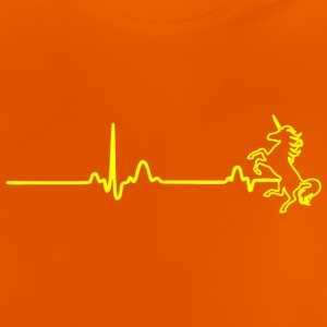 ECG HEARTLINING UNIT yellow - Baby T-Shirt