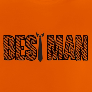 Wedding / Äktenskap: Best Man - Baby-T-shirt