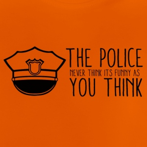 Polizei: The Police Never Think It´s Funny As You - Baby T-Shirt