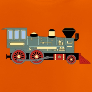 Vintage Train - Baby-T-shirt