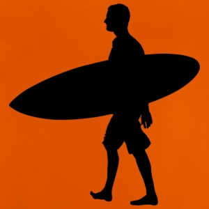 Surfer silhouette - Baby T-Shirt