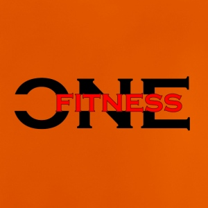 ONE FITNESS Logo (Without Globe) - Baby-T-skjorte