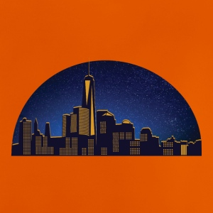N.Y night skyline - Baby-T-shirt