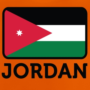 National Flag Of Jordan - Baby-T-skjorte