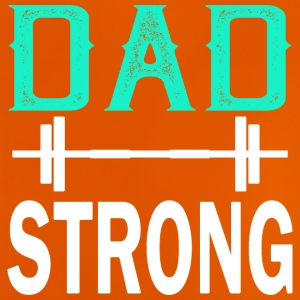 Pappa Strong - fitness - Baby-T-shirt