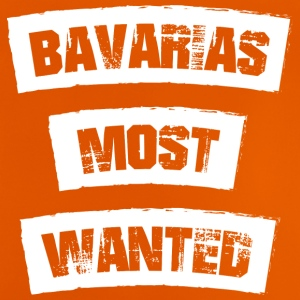 Bayerns Wanted! Bavarian sjovt! - Baby T-shirt