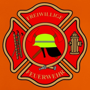 Firefighter Patch - Baby T-Shirt