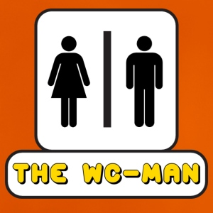 Logo WC-Man YouTube - Maglietta per neonato