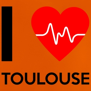 I Love Toulouse - Ich liebe Toulouse - Baby T-Shirt