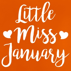 Little miss januari - Baby-T-shirt