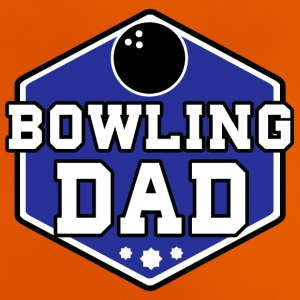 Bowling pappa - Baby-T-skjorte