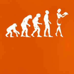 EVOLUTION - SERVICE POWER! - Baby-T-skjorte