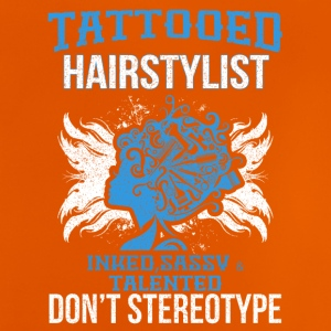 TATTOOED HAIRSTYLIST - Baby T-Shirt