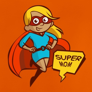 Super Mom - Baby-T-skjorte