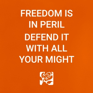 Freedom Is In Peril - Baby T-Shirt