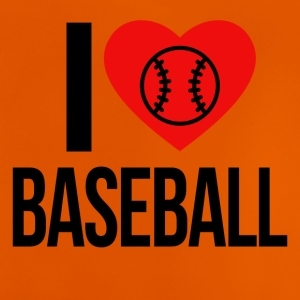 I LOVE BASEBALL - Baby T-Shirt
