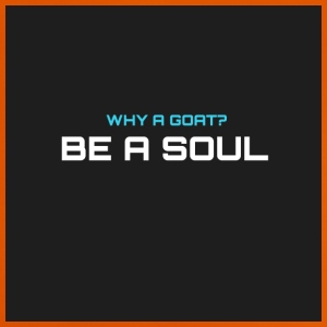 Why a goat? BE IN SOUL - Baby T-Shirt