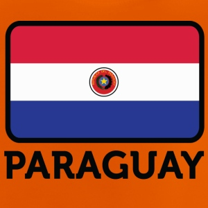 Nationalflagge von Paraguay - Baby T-Shirt
