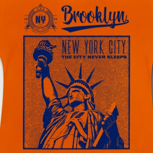 Nueva York · Brooklyn - Camiseta bebé
