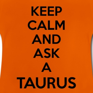 Taurus Keep Calm - Baby T-shirt