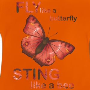 fly like butterfly sting like a bee - Baby T-Shirt