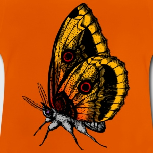Butterfly - Oranje - Baby T-shirt