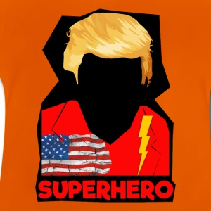 Super Donald / Orange Trump Tear-rive - Baby-T-skjorte